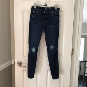 7 for all mankind gwenever ankle skinny jean